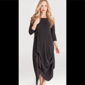Sympli Drama Dress Black Size 10 NWT